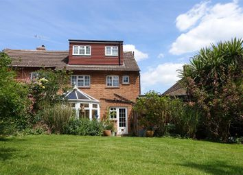 Thumbnail 3 bed semi-detached house for sale in Weald Close, Weald, Sevenoaks