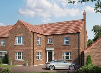 Thumbnail 4 bed detached house for sale in Main Street, Thorganby, York