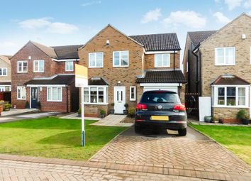 Thumbnail 4 bedroom detached house for sale in Linden Close, Brough