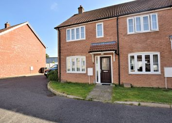 Thumbnail 2 bed end terrace house for sale in Merchants Court, Watton, Thetford