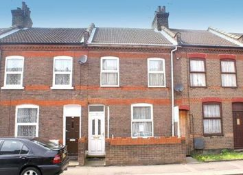 Thumbnail 3 bed terraced house to rent in Clifton Road, Luton