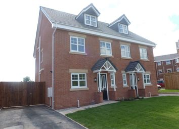 Thumbnail 4 bed property to rent in Bryn Coch, Wrexham