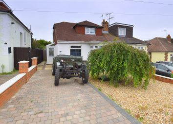 Thumbnail 4 bed semi-detached house for sale in Lewis Road, North Lancing, West Sussex