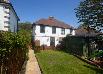 Thumbnail 3 bed semi-detached house for sale in Somerset Road, Almondbury, Huddersfield