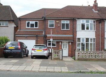 Thumbnail 5 bed semi-detached house for sale in Kingsway Road, Evington, Leicester