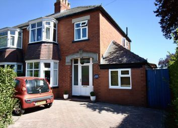 Thumbnail 3 bed semi-detached house for sale in Percy Road, Pocklington, York