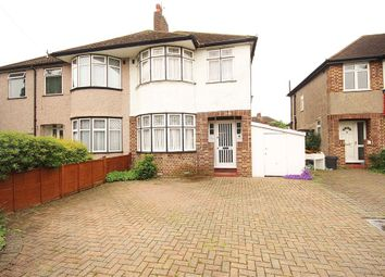 Thumbnail 3 bed semi-detached house for sale in Gerard Avenue, Whitton, Hounslow