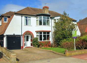 Thumbnail 4 bed semi-detached house for sale in The Byeways, Surbiton, Surrey