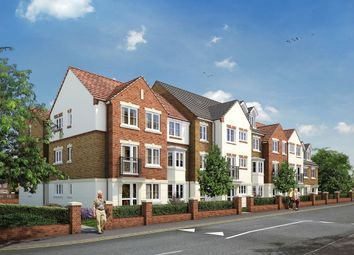 Thumbnail 1 bed property for sale in Ash Lodge, Churchfield Road, Walton-On-Thames, Surrey