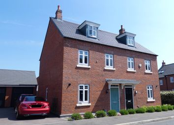 Thumbnail 3 bed semi-detached house for sale in Flora Grove, Ashby De La Zouch