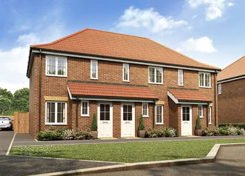 "Thumbnail 2 bed semi-detached house for sale in ""The Alnwick"" at Dorman Avenue North, Aylesham, Canterbury"