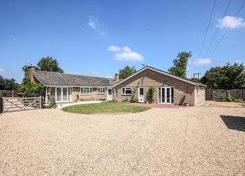 Thumbnail 5 bed detached bungalow for sale in Barcham Road, Soham