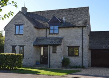 Thumbnail 4 bed detached house for sale in St. Peters Close, Stoke Lyne, Bicester