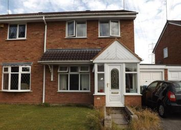 Thumbnail 3 bedroom semi-detached house for sale in Stoneybrook Leys, Wombourne, Staffordshire