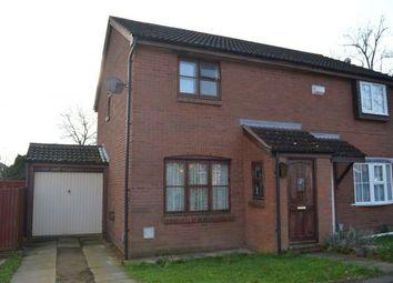Thumbnail 3 bedroom semi-detached house for sale in Tiptoe Close, Cherry Lodge, Northampton