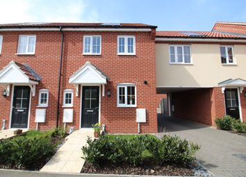 Thumbnail 2 bed terraced house for sale in Jeckyll Road, Wymondham