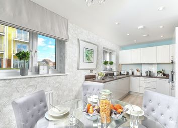 Thumbnail 3 bed link-detached house for sale in Holborough Lakes, Manley Boulevard, Snodland, Kent