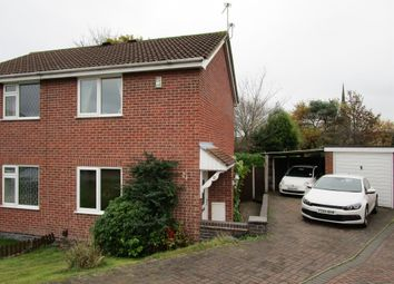 Thumbnail 2 bed semi-detached house for sale in Monteith Place, Castle Donington, Derby