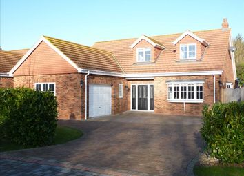 Thumbnail 3 bed detached house for sale in The Cedars, Off Humberston Avenue, Humberston, Near Grimsby