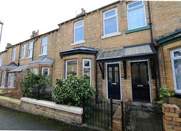 Thumbnail 3 bed terraced house for sale in Garfield Road, Scarborough, North Yorkshire