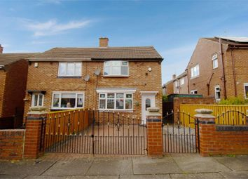 Thumbnail 2 bed semi-detached house for sale in Hawkesley Road, Sunderland, Tyne And Wear