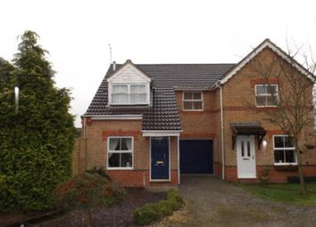 Thumbnail 3 bed detached house to rent in Parthenon Close, Pleasley, Mansfield