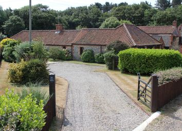 Thumbnail 4 bed barn conversion for sale in Main Road, Sidestrand, Cromer