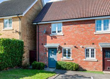 Thumbnail 2 bed semi-detached house for sale in Kittiwake Court, Stowmarket