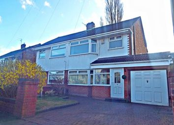 Thumbnail 3 bed semi-detached house for sale in Grangeside, Woolton, Liverpool, Merseyside