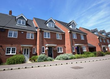 Thumbnail 4 bedroom town house for sale in Brooklands Avenue, Wixams, Bedford