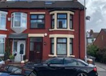 Thumbnail 4 bed terraced house for sale in Liscard Road, Wallasey