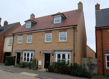 Thumbnail 3 bed town house to rent in Brooklands Avenue, Wixams, Bedford