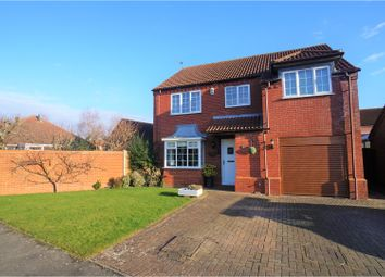 Thumbnail 4 bed detached house for sale in Saxon Way, Ingham