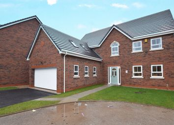Thumbnail 5 bed detached house for sale in Fossdale Moss, Leyland, Lancashire
