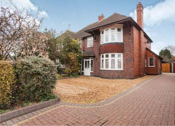 Thumbnail 3 bed semi-detached house for sale in Lansdowne Road, Branston, Burton-On-Trent