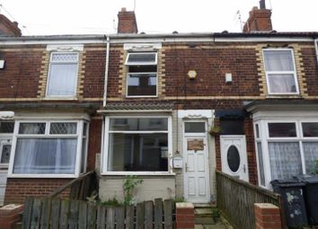 Thumbnail 2 bed terraced house for sale in Carlton Avenue, Delhi Street, Hull