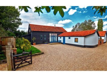 Thumbnail 5 bed barn conversion for sale in Langmere, Diss