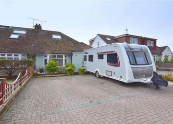 Thumbnail 2 bed semi-detached bungalow for sale in Upper Brighton Road, Sompting, West Sussex