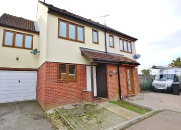 Thumbnail 3 bed semi-detached house for sale in Fairbank Close, Ongar, Essex