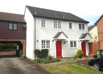 Thumbnail 2 bed semi-detached house to rent in Gander Drive, Basingstoke