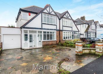 Thumbnail 3 bed semi-detached house to rent in Poplar Road South, Merton Park