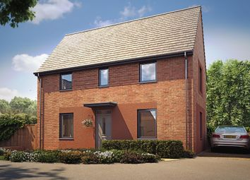 "Thumbnail 3 bedroom detached house for sale in ""Hatton"" at Langaton Lane, Pinhoe, Exeter"