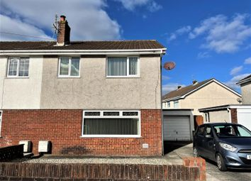 Thumbnail 3 bed property for sale in Ridgewood Park, Llanelli