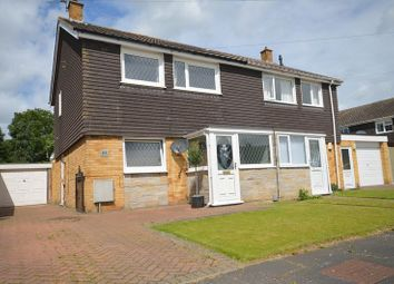Thumbnail 3 bed semi-detached house for sale in Norman Drive, Old Catton, Norwich
