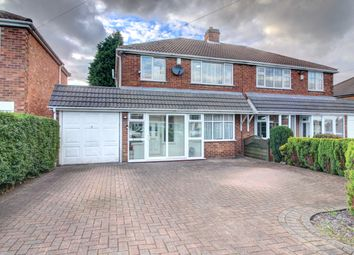 Lowlands Avenue, Streetly, Sutton Coldfield B74. 3 bed semi-detached house