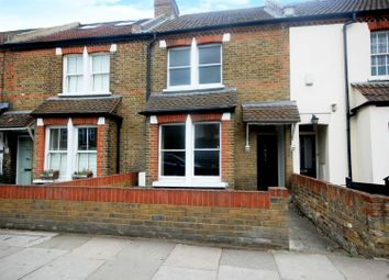 Thumbnail 2 bed terraced house for sale in Wellington Road, Hampton Hill, Hampton