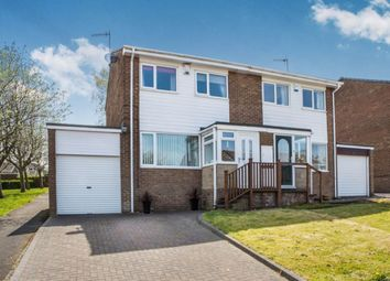 Thumbnail 3 bed semi-detached house for sale in Rosedale Road, Crawcrook, Ryton