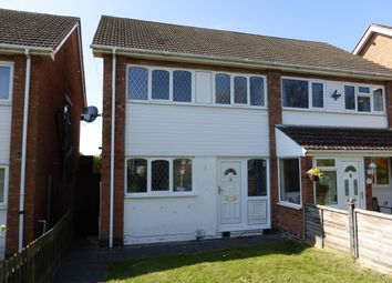 Thumbnail 3 bed semi-detached house for sale in Freville Close, Tamworth