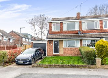 Thumbnail 3 bedroom semi-detached house for sale in Woodlea Drive, Yeadon, Leeds