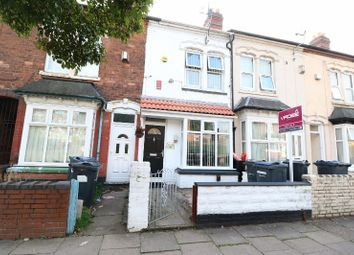 Thumbnail 3 bed terraced house for sale in Belmont Road, Handsworth, West Midlands
